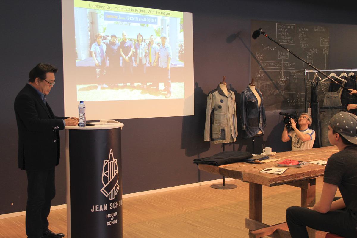 オランダ・アムステルダムの「JEAN SCHOOL」で代表取締役社長 眞鍋寿男が講演を行いました。