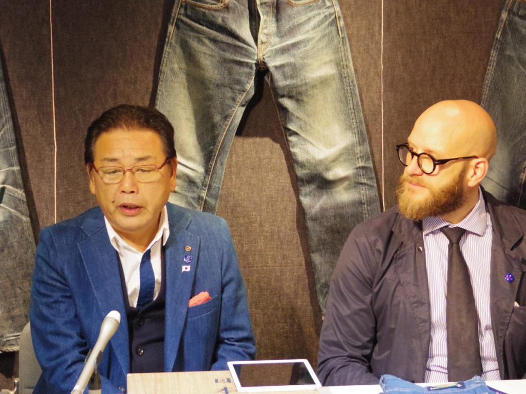 """オランダ・アムステルダム市""""DENIM CITY""""のインディゴ・アーカイブに「本藍手織りジーンズ」を寄贈しました。"""