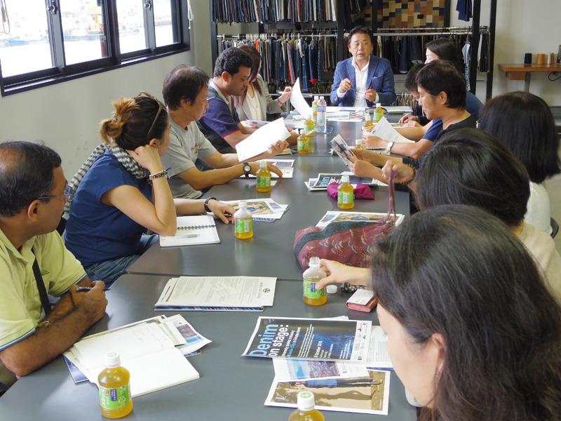 国際文化会館実施のアジア交流プログラムの視察を受けました。