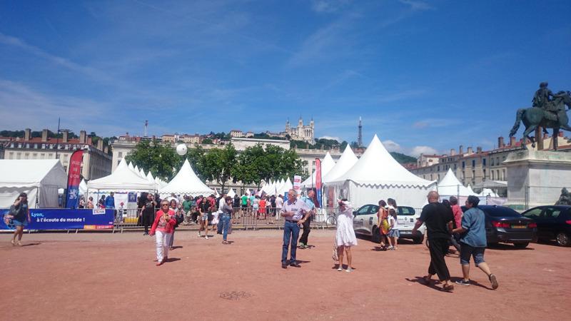 フランス、リヨンの領事祭に参加しました。