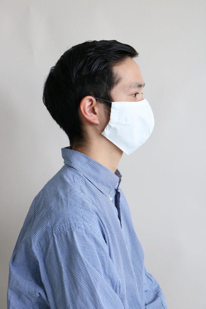 日本製抗菌防臭コットンマスク受注開始