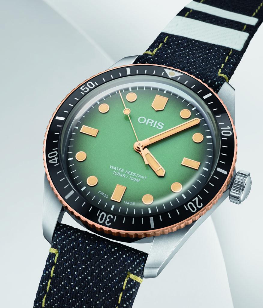 【release】110年以上の歴史と技術を持つスイス機械式時計ブランド・オリスと、日本が誇る本格デニムブランド・桃太郎ジーンズが提携 コラボレーションウォッチを6月に新発売