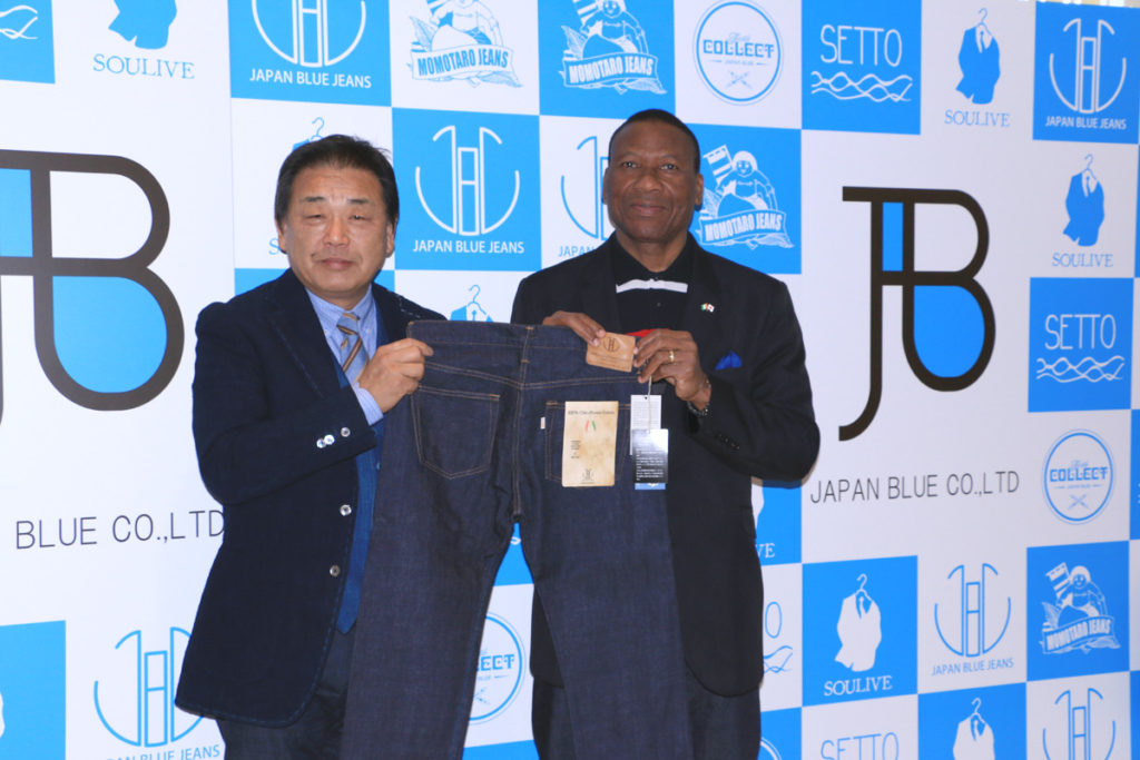 """【release】海外戦略ブランド 「JAPAN BLUE JEANS」から11月26日世界同時発売 ジーンズの原点に立ち返る、糸から紡いだ """"コートジボワールコットンジーンズ""""誕生。~世界へ!日本の国産ジーンズから1%チャリティを始動~"""