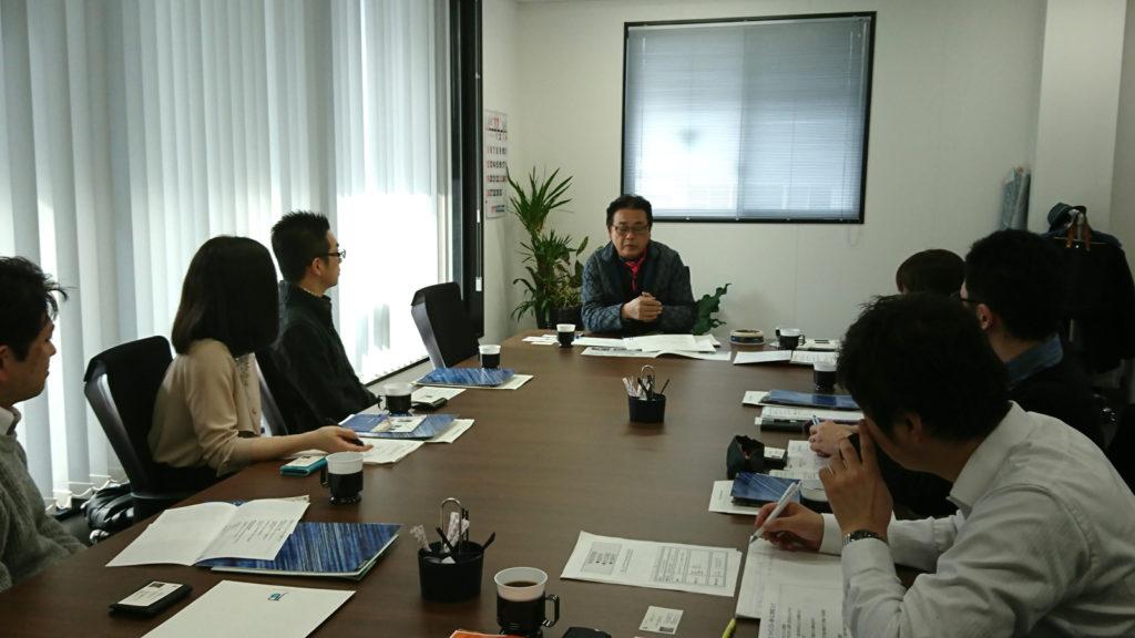 パナソニックシステムソリューションズ様の企業訪問を受けました。